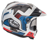 arai xd4 vision helmet red rear