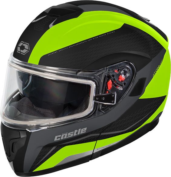 Castle X Atom Tarmac Electric Snow Helmet