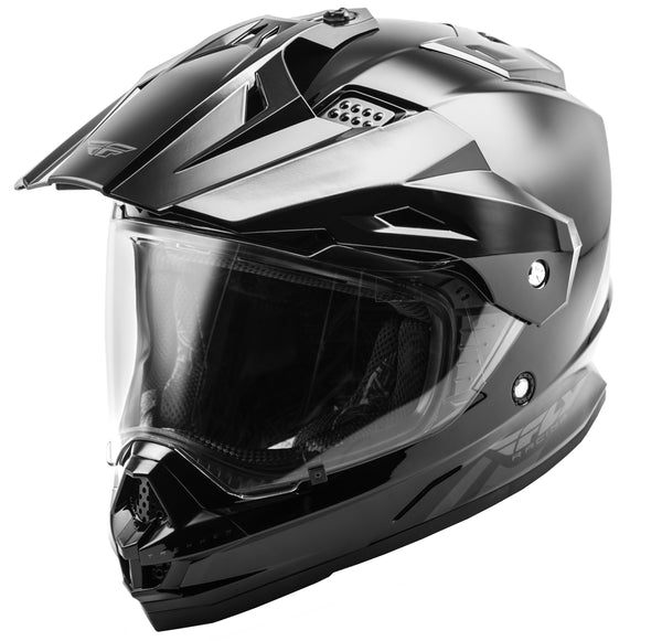 Fly Racing Trekker Solid Helmet
