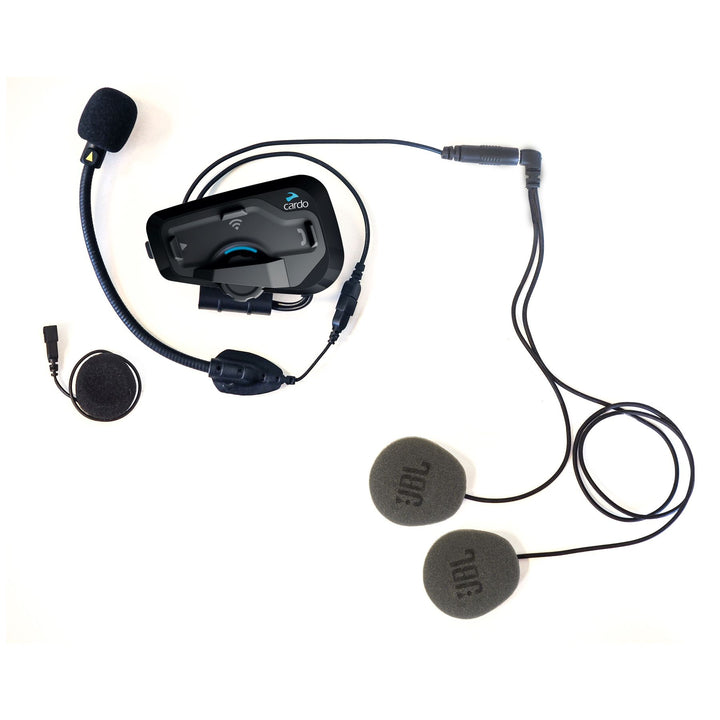 cardo freecom 4+ bluetooth headset single kit