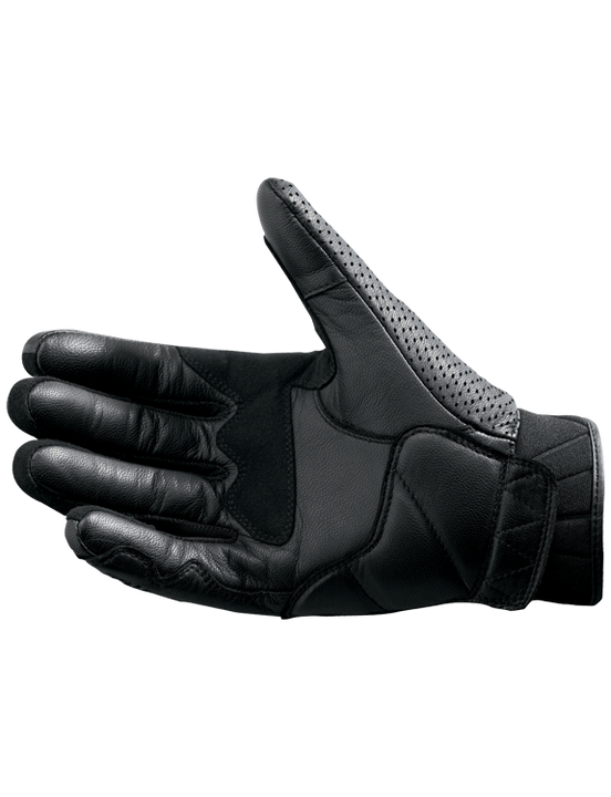 castle axis leather motorcycle gloves palm