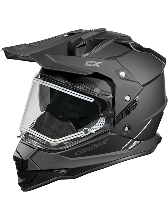 castle x snowmobile helmet mode electric faceshield