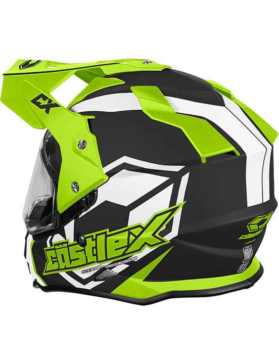castle-x-mode-electric-helmet-team-hivis-rear