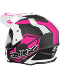 castle-x-mode-electric-helmet-team-pink-rear