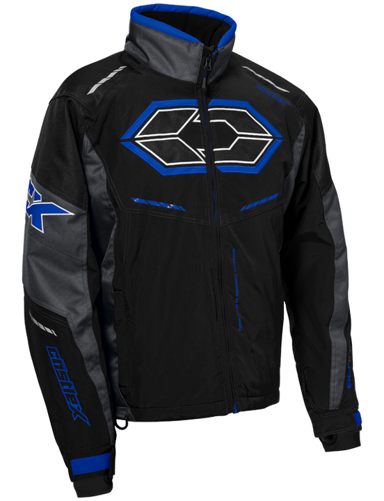castle x blade g4 mens snowmobile jacket blue