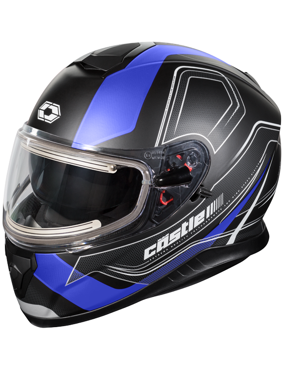 Castle X Thunder 3 Trace Electric Snow Helmet