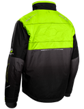 castle strike jacket hivis back