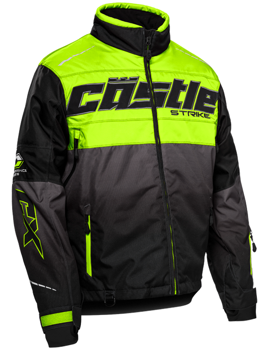 castle strike jacket hivis front