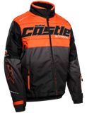 castle strike jacket orange front