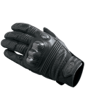 castle axis leather motorcycle gloves