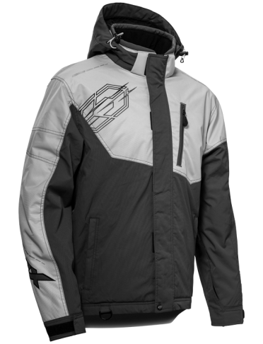 castle phase jacket silver front