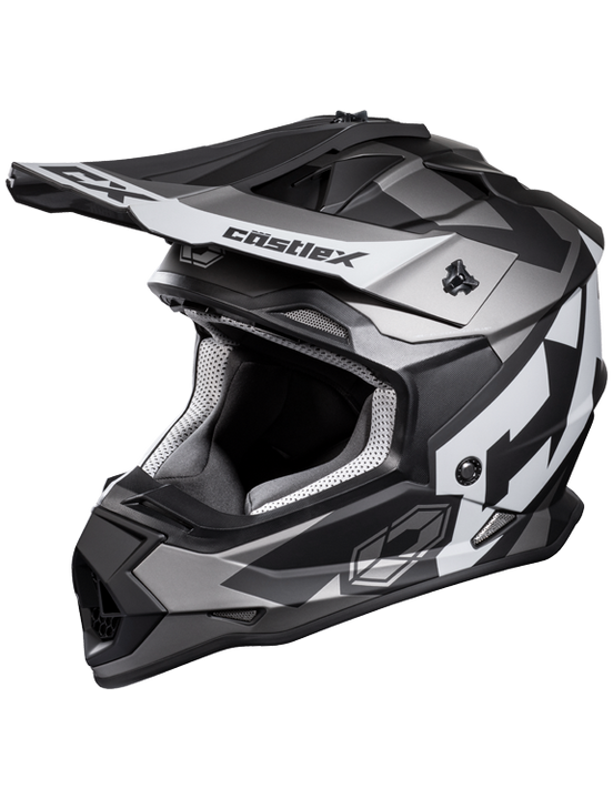 castle mode flow helmet charcoal