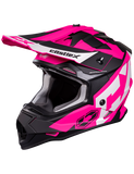 castle mode flow helmet pink