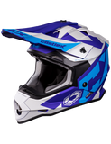 castle mode flow helmet blue