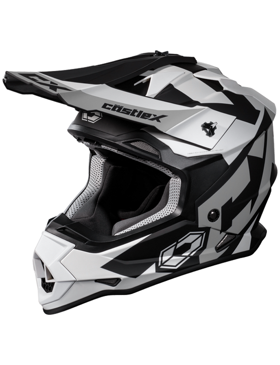 castle mode flow helmet white