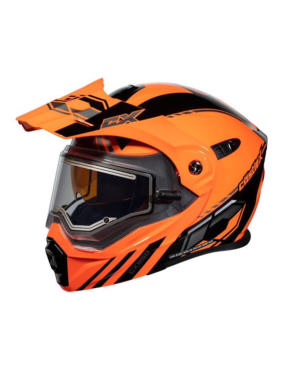 Castle X CX950 Task Electric Snowmobile Helmet