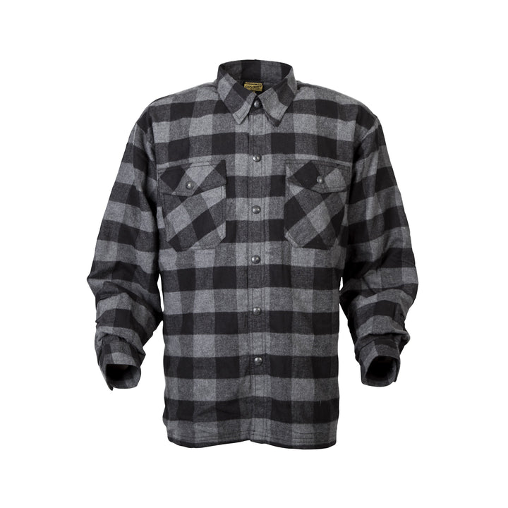 scorpion-covert-moto-flannel-riding-shirt-black-front