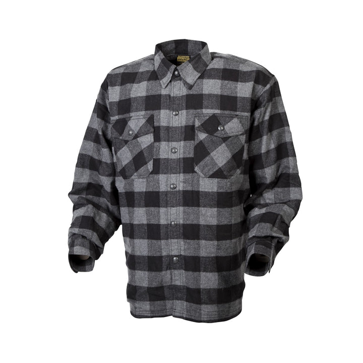 scorpion-covert-moto-flannel-riding-shirt-black-angle