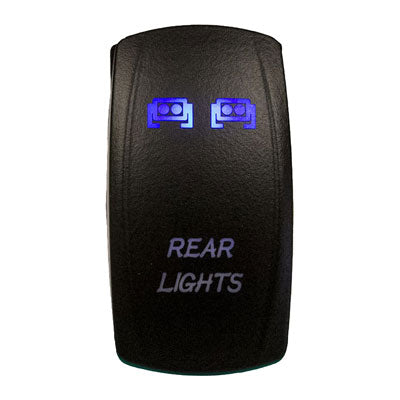 Dragonfire LED Rocker Accessory Switch