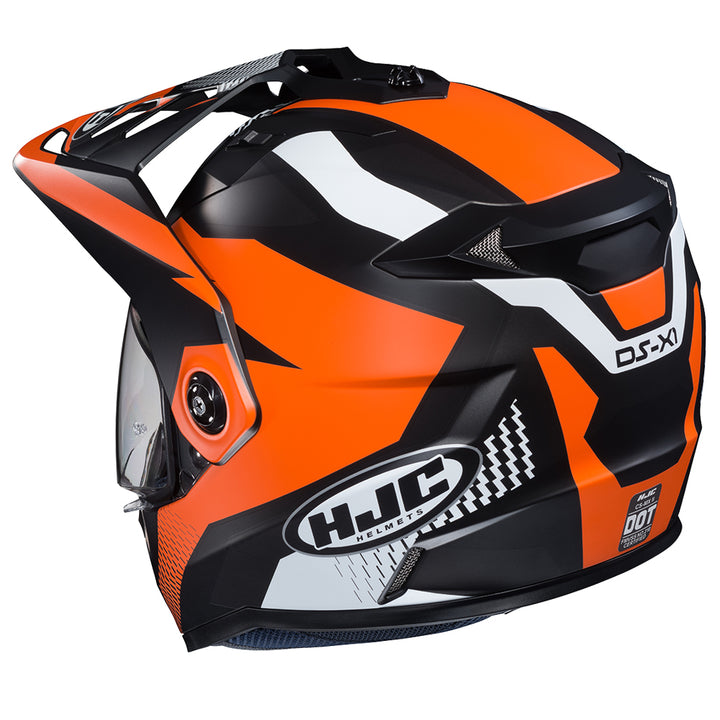 hjc-ds-x1-awing-helmet-orange-rear