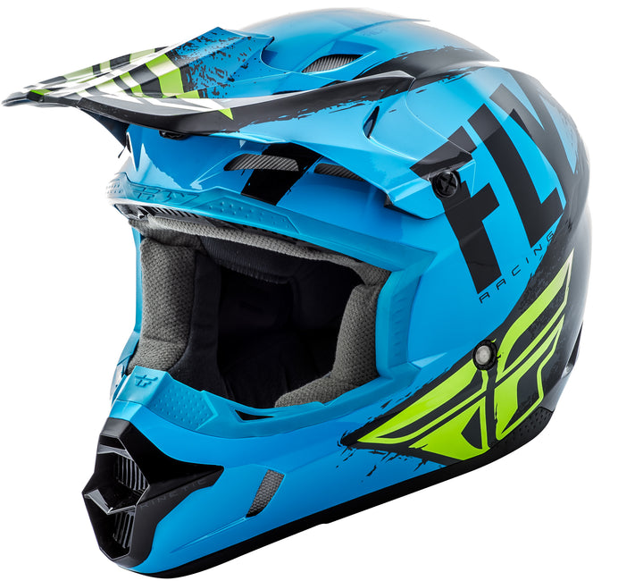 fly-youth-burnish-helmet-blue-front