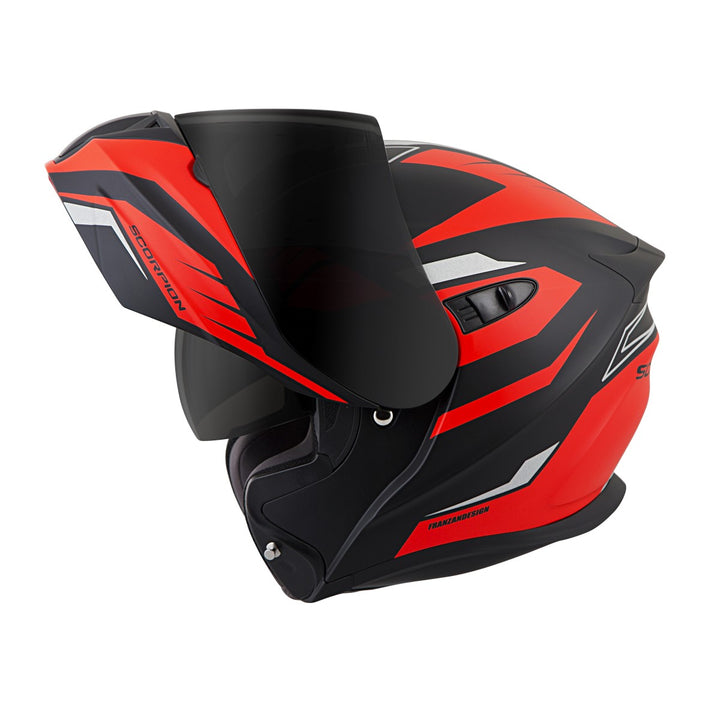 scorpion-exo-gt920-shuttle-helmet-red-open