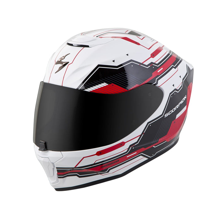 scorpion-r420-techo-red-black-front