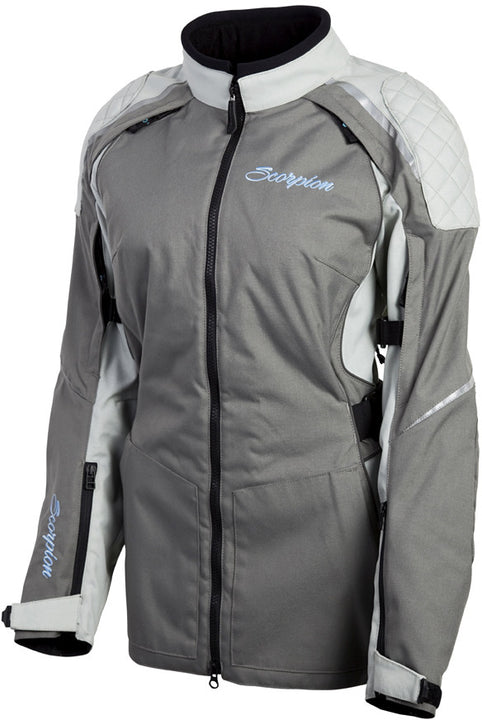 scorpion-zion-womens-jacket-Grey-front