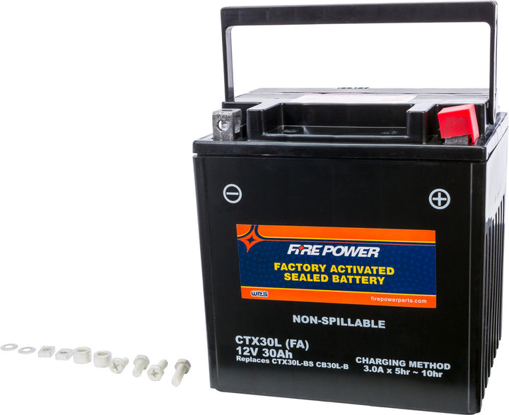 fire power agm battery ctx30l