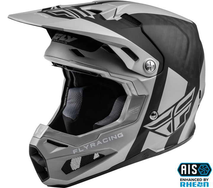 fly racing helmets formula origin black silver