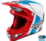 fly racing helmets formula origin red white blue