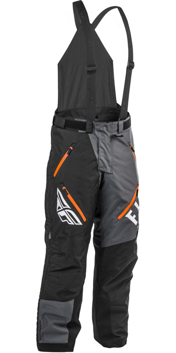 fly racing snx pro bib grey