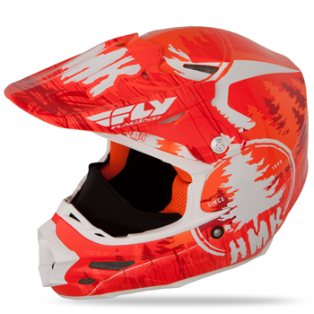 Fly Racing F2 Carbon HMK Pro Stamp Snow Helmet