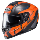 hjc rpha 70 st vias orange