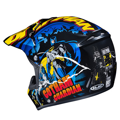 HJC CL XY 2 Batman Youth Helmet rear