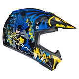 HJC CL XY 2 Batman Youth Helmet side