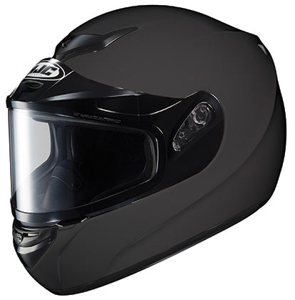 hjc cs-r3 snowmobile helmet matte black
