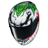 hjc joker helmet top
