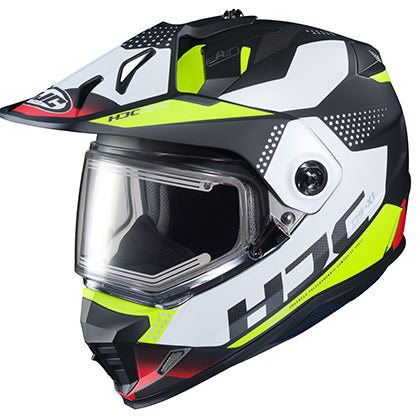 hjc snowmobile helmets ds-x1 tactic hivis