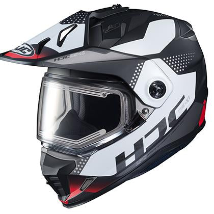 hjc snowmobile helmets ds-x1 tactic grey