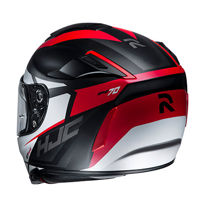 hjc rpha 70 st sampra helmet red back