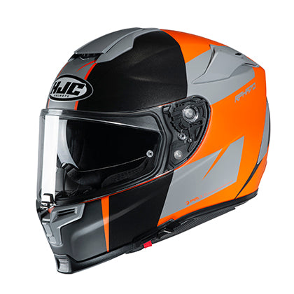 hjc rpha 70 st terika helmet orange