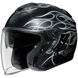 shoei j cruise 3/4 helmet grey