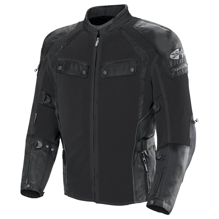 joe rocket phoenix ion summit mesh jacket black