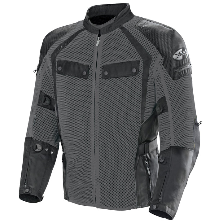 joe rocket phoenix ion summit mesh jacket grey