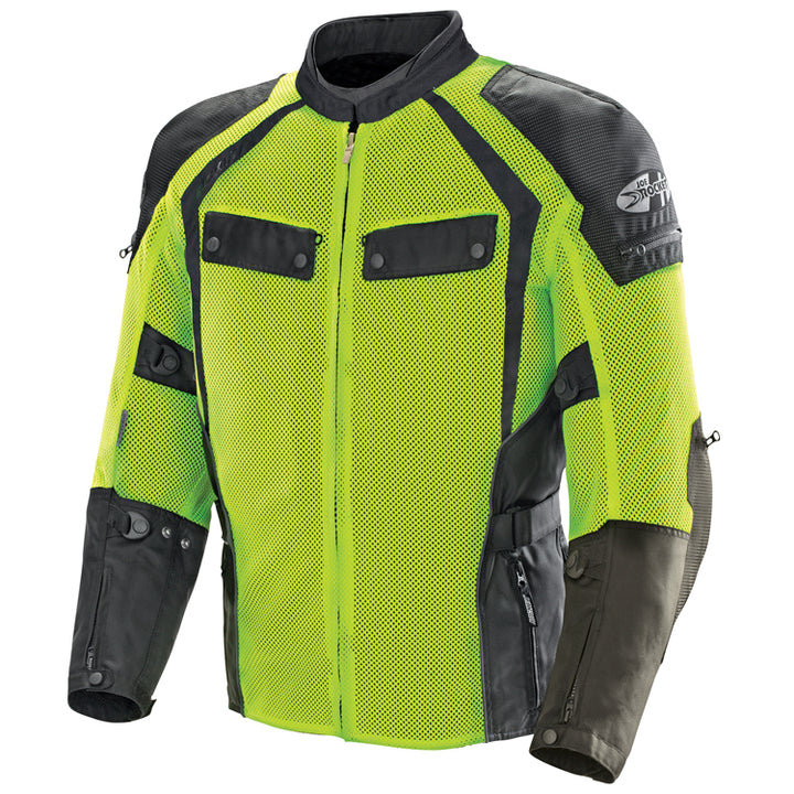 joe rocket phoenix ion summit mesh jacket hivis