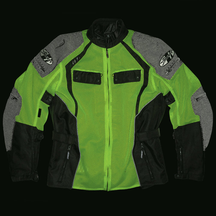 joe rocket phoenix ion summit mesh jacket innolite