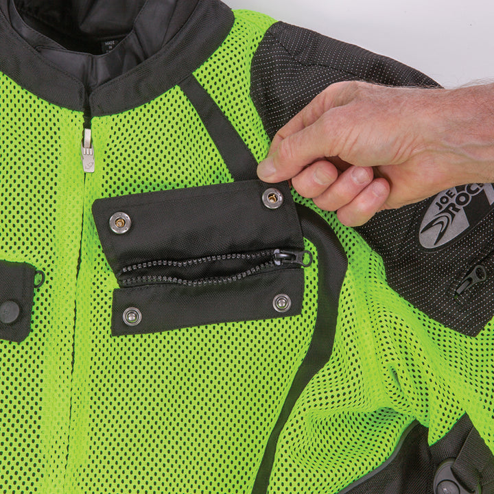 joe rocket phoenix ion summit mesh jacket pocket