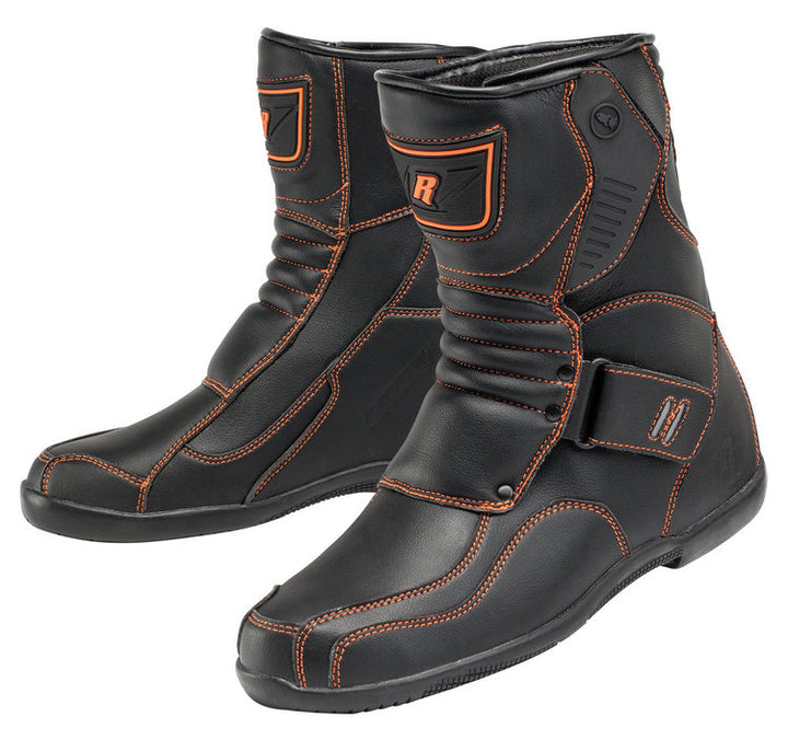 joe-rocket-mercury-motorcycle-boots-orange