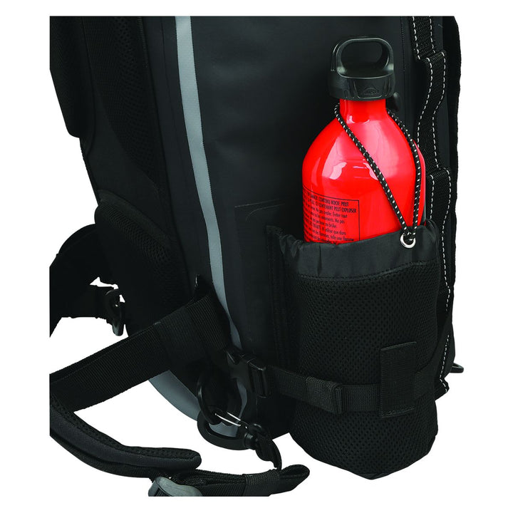 nelson rigg hurricane waterproof backpack tail bag side